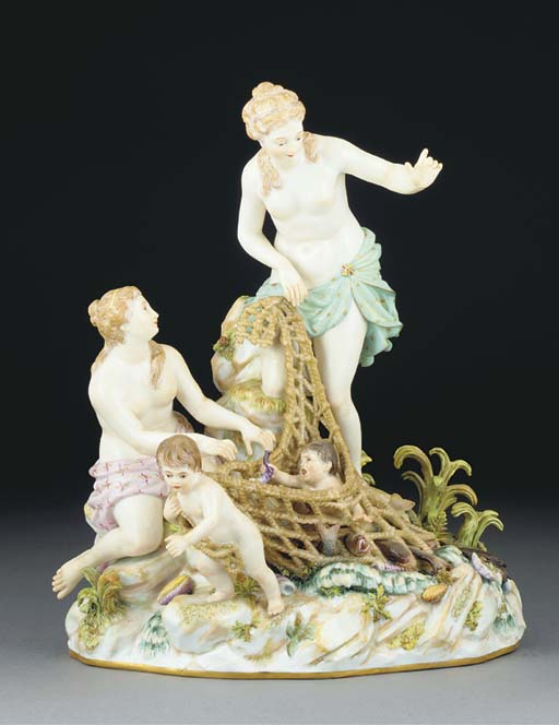 A Meissen group of the Capture