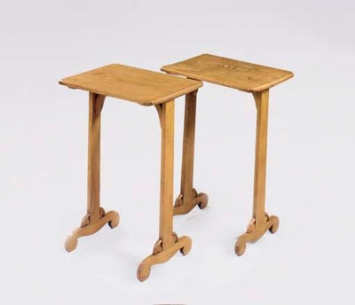 A PAIR OF ENGLISH ASH OCCASION