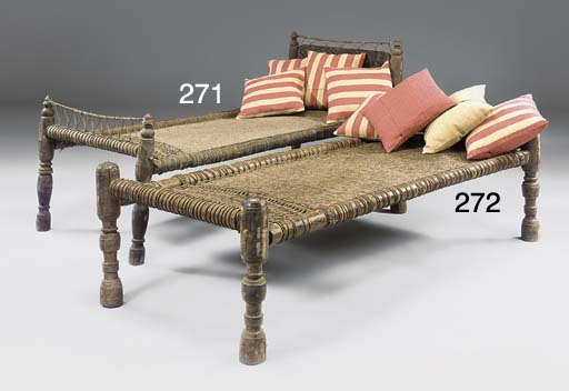AN INDIAN HARDWOOD DAYBED
