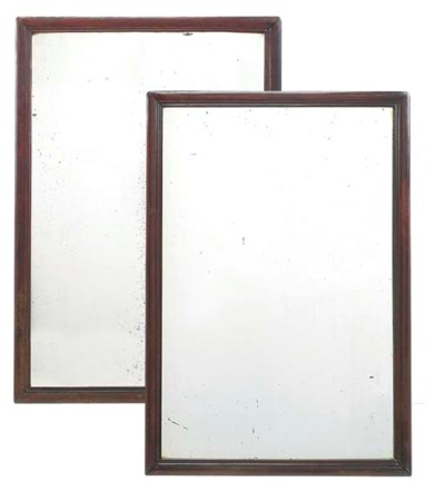 A PAIR OF CHINESE PADOUK FRAME
