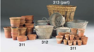 A LARGE QUANTITY OF TERRACOTTA