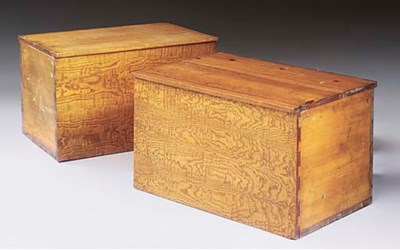 A PAIR OF VICTORIAN ASH AND PO