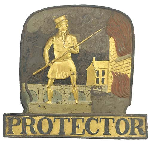 A Protector Fire Insurance cop