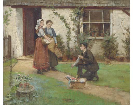 Fred Millard, R.B.A. (Exh.1882