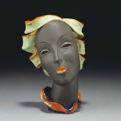 A Goldscheider terracotta bust