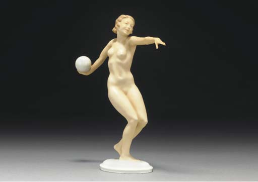 A L.Hutschenreuter porcelain f