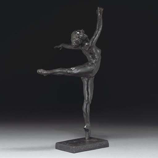'La Danseuse Nattova' a patina