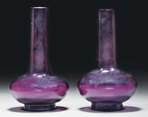 A pair of aubergine coloured g