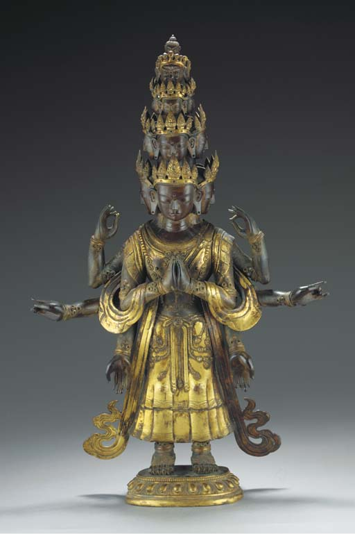 A Sino-Tibetan lacquered and g