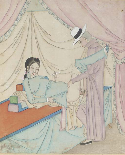 A Chinese erotic album, late 1
