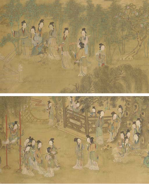 A Chinese handscroll, early 19