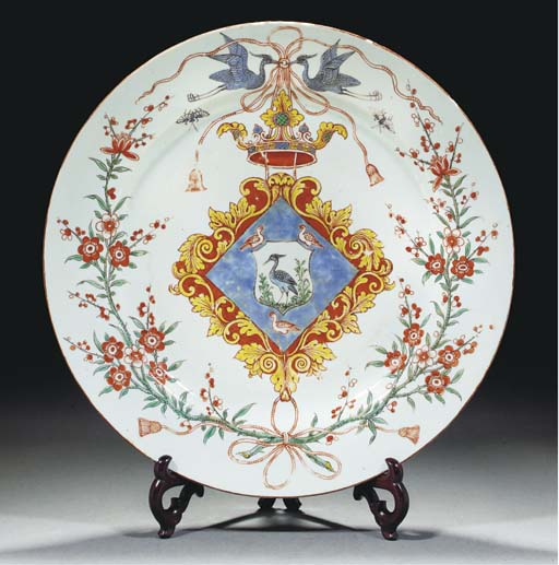 An export armorial charger for