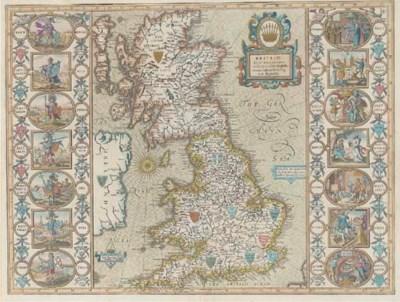 SPEED, John (1552-1629).  Brit