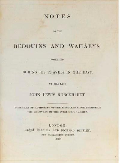 BURCKHARDT, Johann Ludwig (178