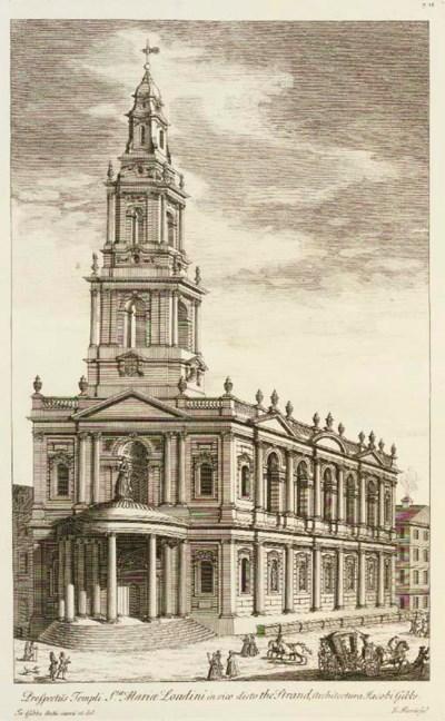 GIBBS, James (1682-1754).  A B