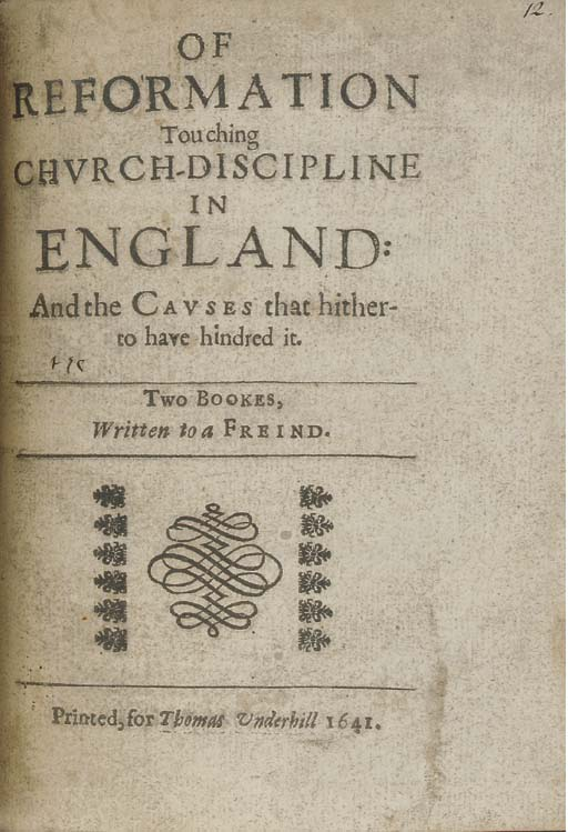 [MILTON, John (1608-1674)]. Of