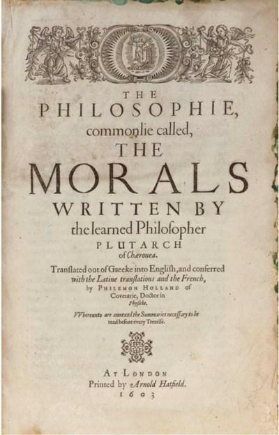 PLUTARCH (c.46-c.120). The Phi