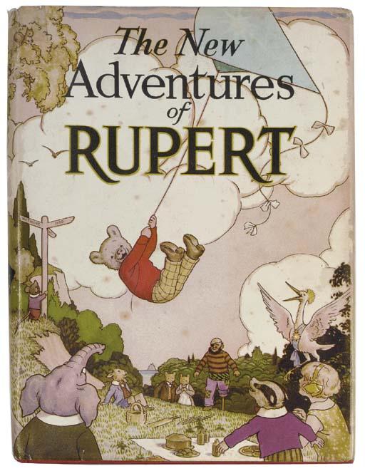 RUPERT BEAR ANNUALS -- TOURTEL