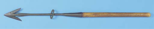 A 19TH-CENTURY WHALING HARPOON