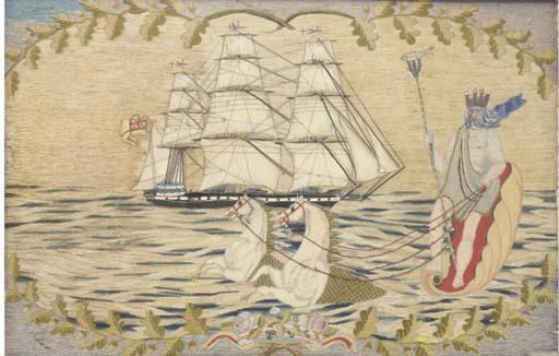 A FINE 19TH-CENTURY SAILOR'S W