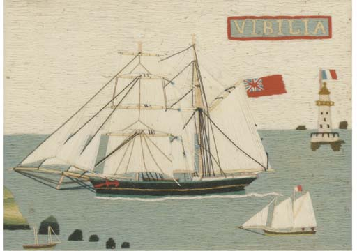 A 19TH-CENTURY SAILOR'S WOOLWO