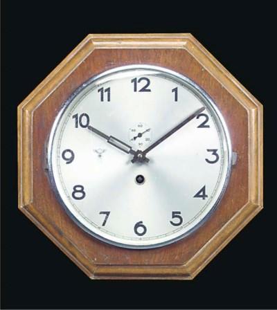 A KRIEGSMARINE WARDROOM CLOCK