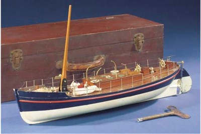 A SPRING-DRIVEN LIFEBOAT MODEL