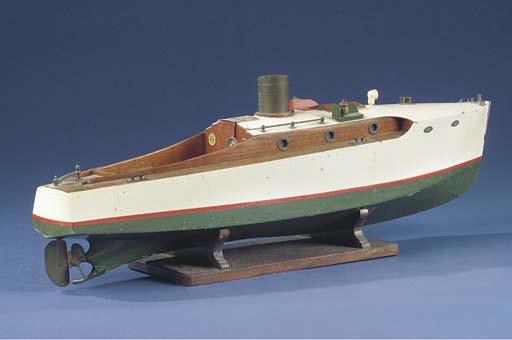 AN ELECTRIC-POWERED MODEL OF A