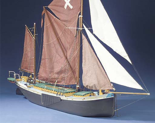A WELL DETAILED FULLY-RIGGED R
