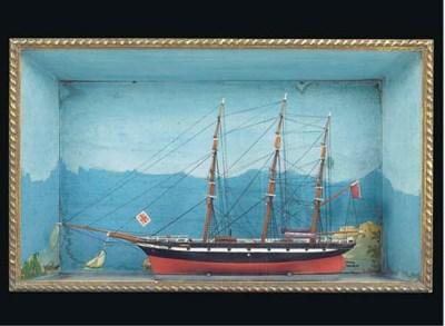 A 19TH-CENTURY SAILOR'S PICTUR