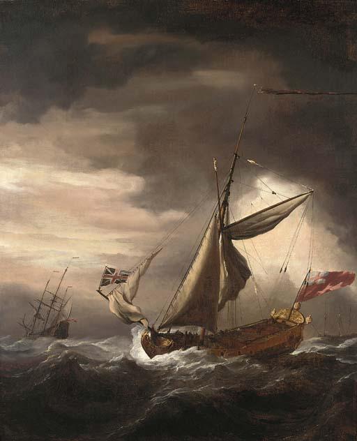 Willem van de Velde, the Young