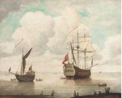 Manner of Willem van de Velde