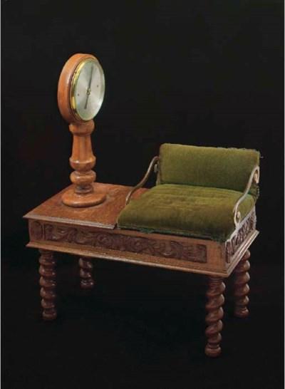 A set of oak jockey scales, by