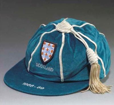 A BLUE ENGLAND V. SCOTLAND INT