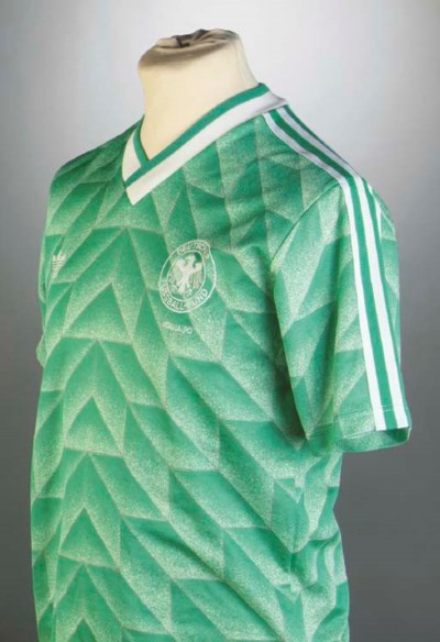 A GREEN AND WHITE WEST GERMANY