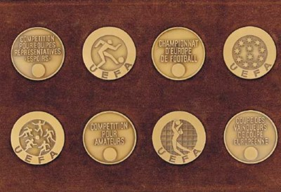 A COMPLETE SET OF UEFA COMPETI