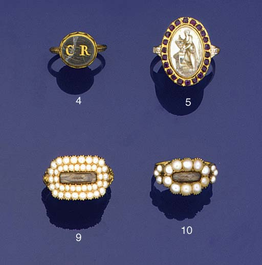 A Memorial ring for charles II