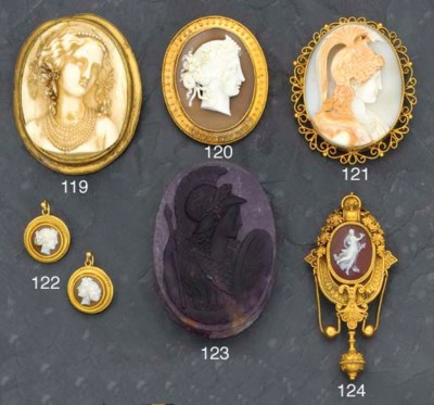 A 19th century hardstone cameo