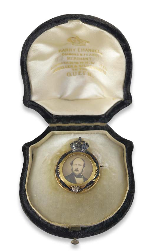 A 19th century gold Royal Pres
