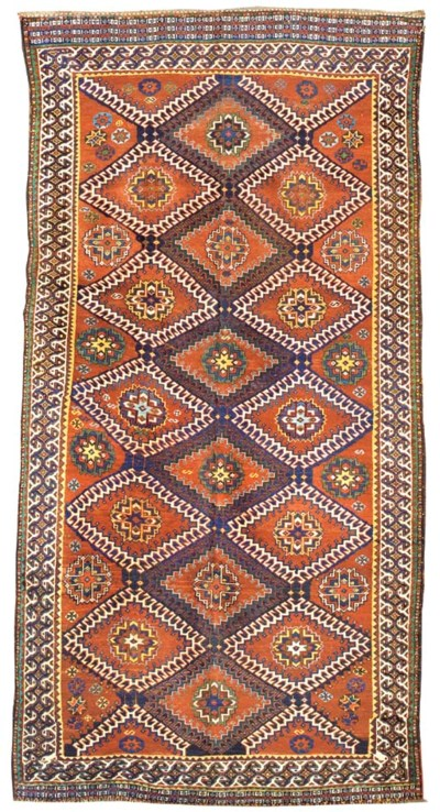 An antique Qashqai carpet, Sou