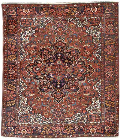 A fine Bakhtiart carpet, West