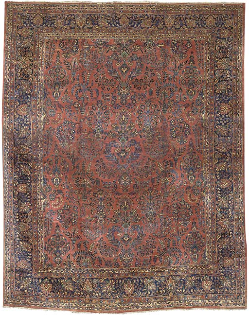 A fine Sarouk carpet, West Persia