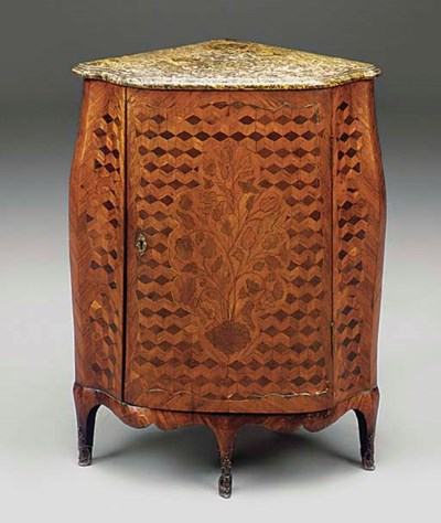 A LOUIS XV PARQUETRY AND MARQU