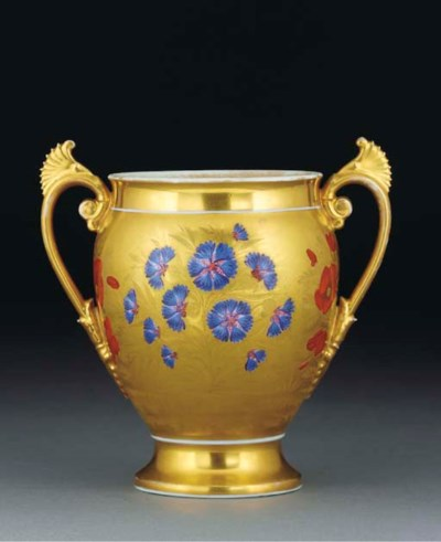 A Continental gilt-ground two-