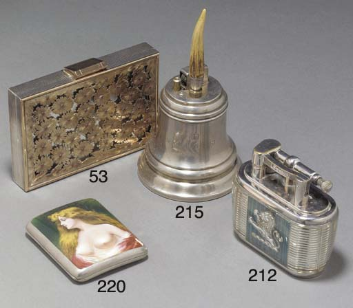 A continental silver and ename