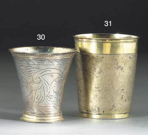 A Swedish Parcel-Gilt Silver B