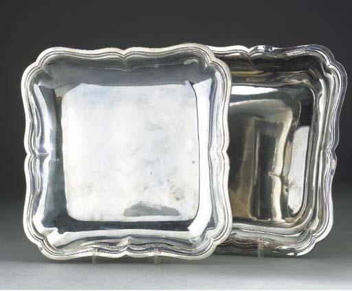 A Pair of Louis XVI Silver Veg