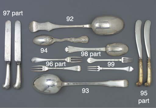 A German Silver Basting Spoon