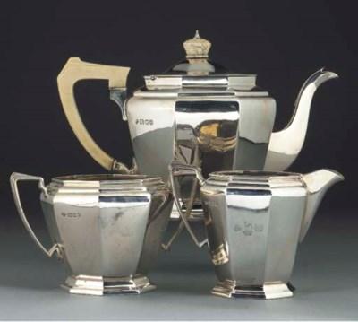 A George V Silver Tea Service