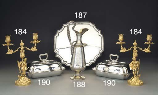 A Victorian Parcel-Gilt Silver